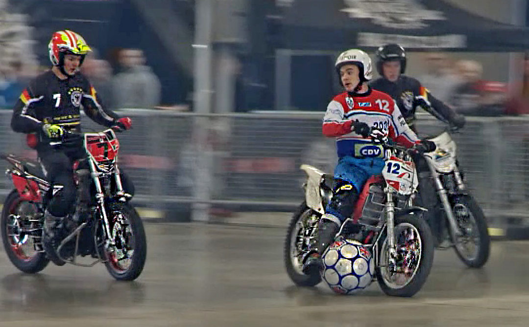 Motoball – when two great sports collide