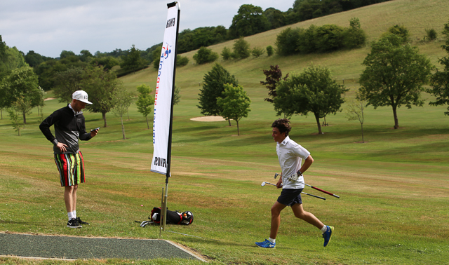 """Speedgolf – """"It's golf Jim – But not as we know it…."""""""